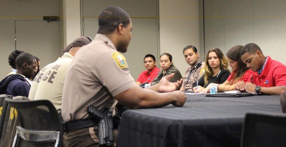 Miami Dade Police at FIU - Diego Saldana-Rojas WLRN