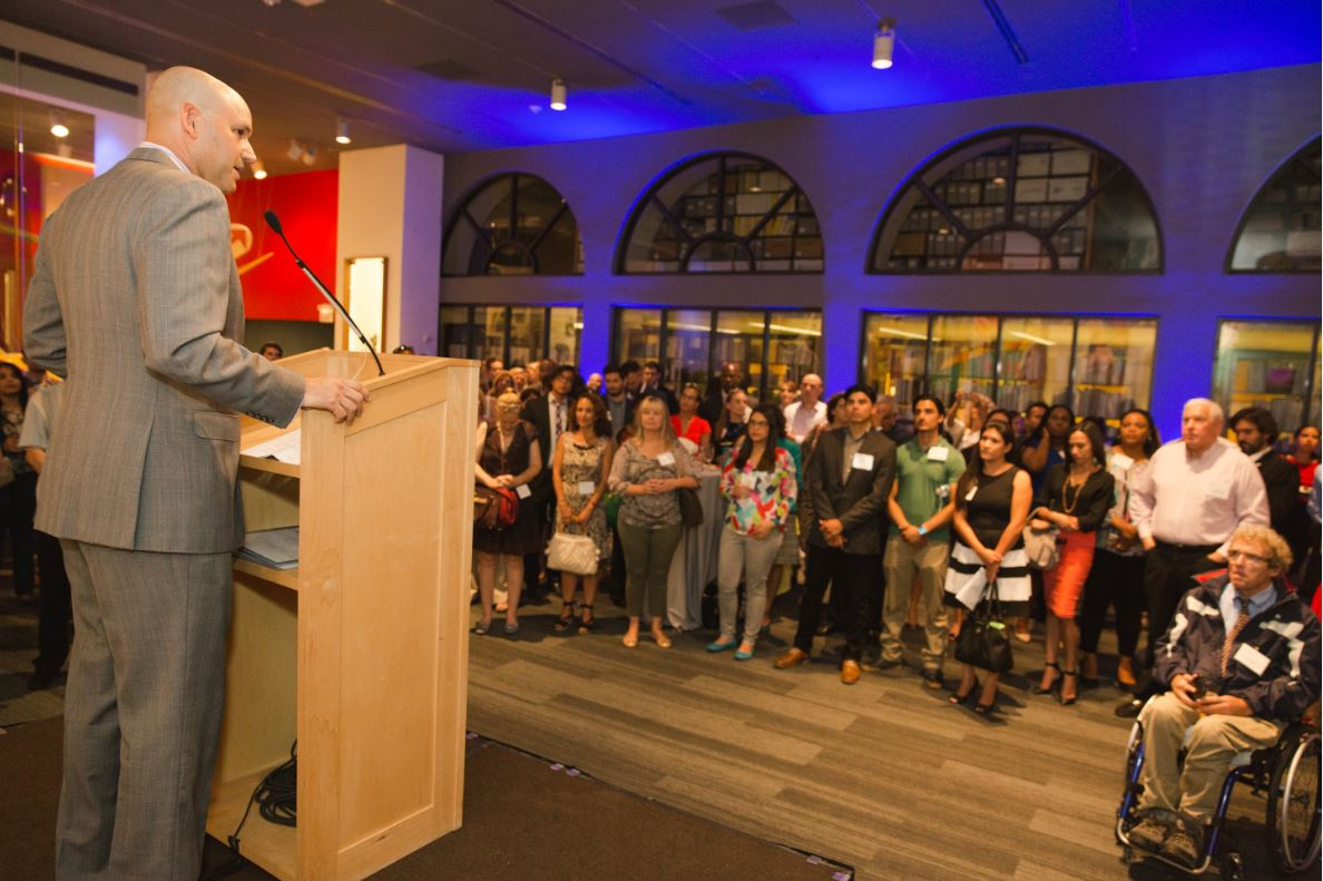 Javier Alberto Soto at Community Grants