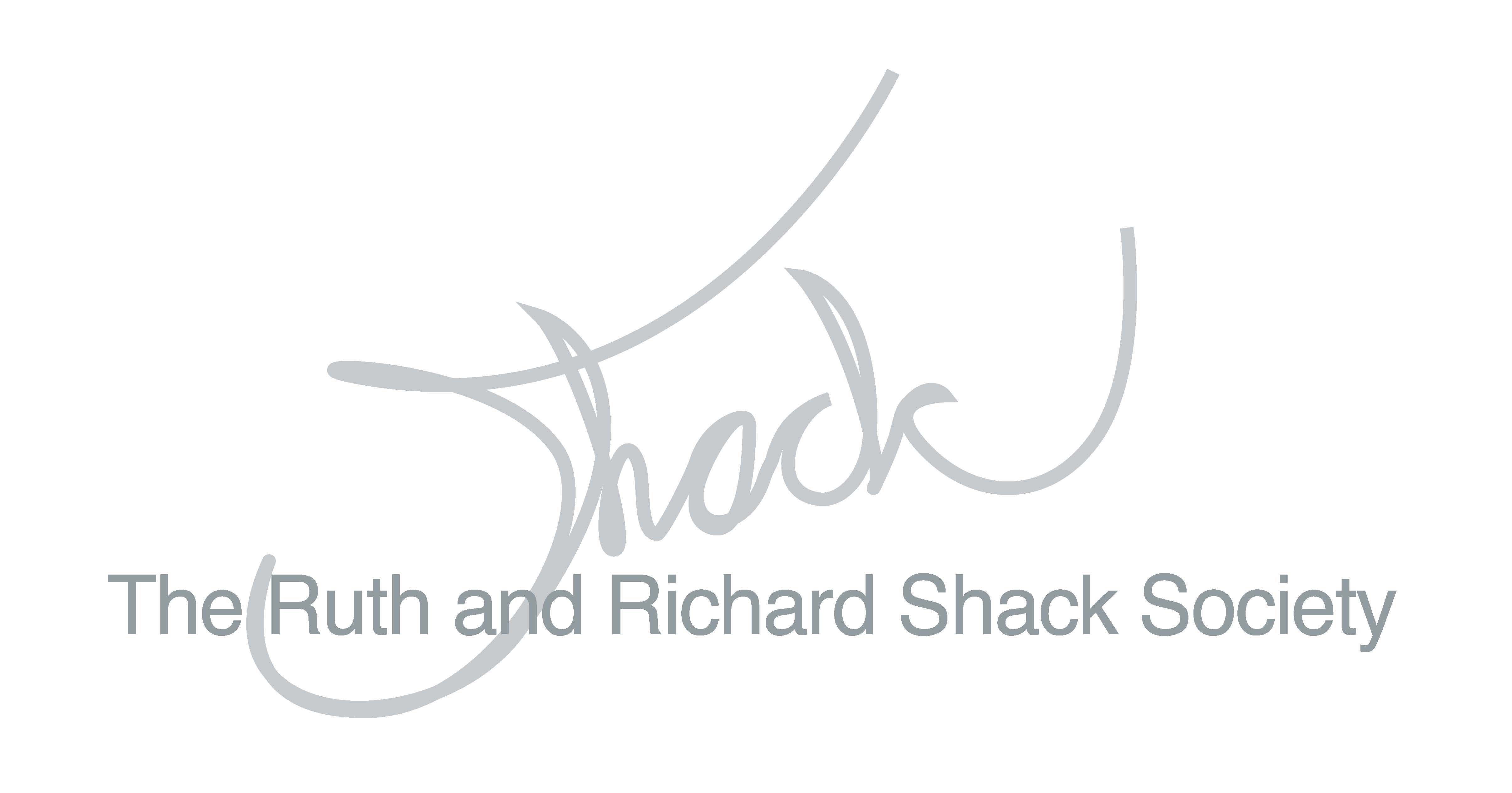 Ruth and Richard Shack Society logo LARGE