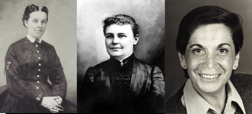 Mary Brickell, Julia Tuttle and Ruth Shack