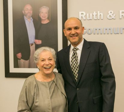 Javier Soto and Ruth Shack