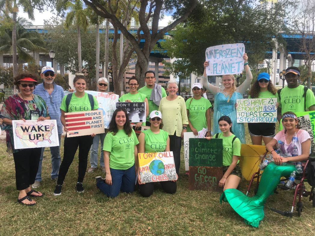 CLEO Institute at 2017 Miami People's Climate March_CROP