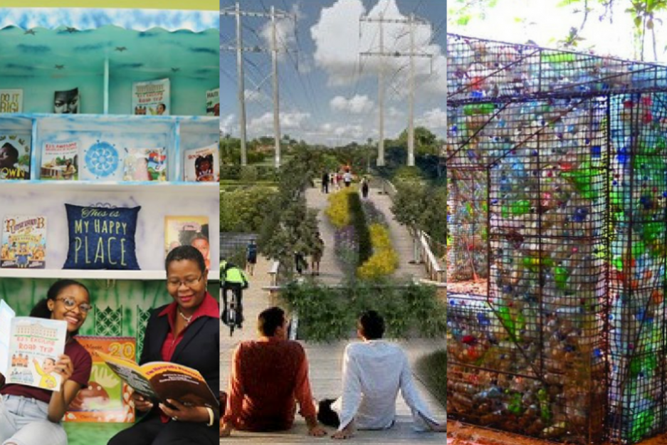 Public Space Challenge finalist ideas for Miami-Dade's parks
