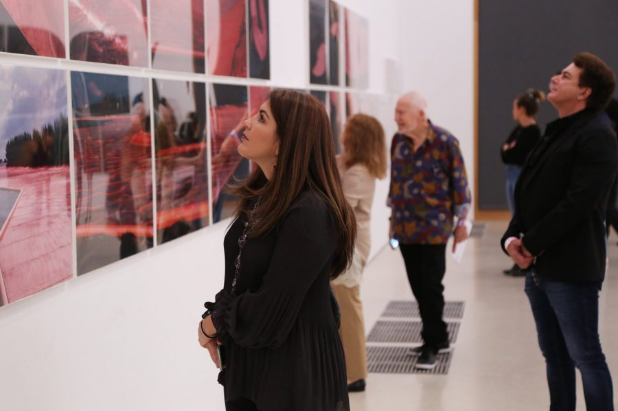 Pictured above: Guests visit PAMM, a grant recipient of The Jorge M. Pérez Family Foundation.