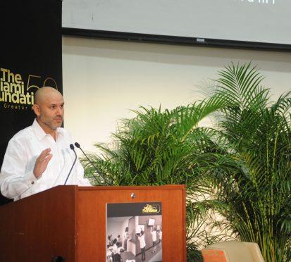 Javier Alberto Soto speaking2