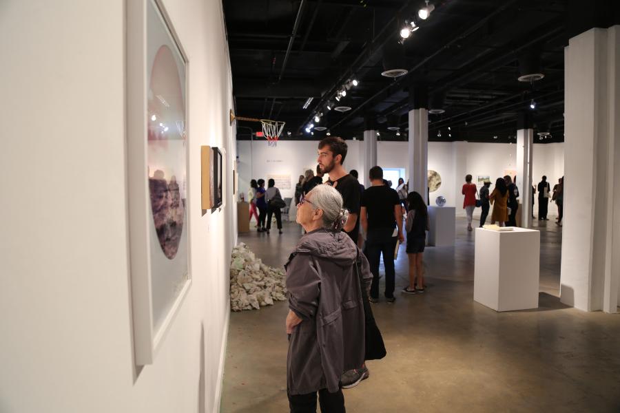 Pictured: Gallery at Bakehouse Art Complex, a Pérez CreARTE Grants Program recipient